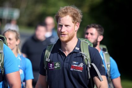 Prince Harry joins WOB 2015
