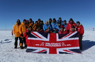Prince Harry and Walking With the Wounded team reach South Pole