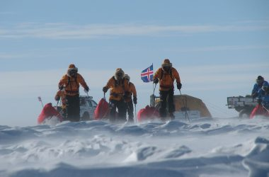 Walking With The Wounded South Pole Allied Challenge Expedition Launch