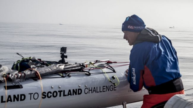Olly Hicks – The North Sea Kayak