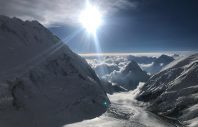 View of Pumori from Everest 2019