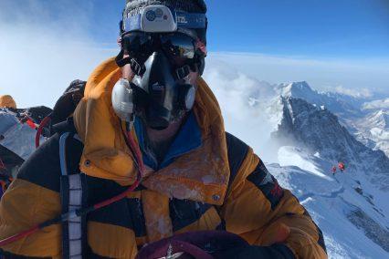 Martin Hewitt Everest summit 2019