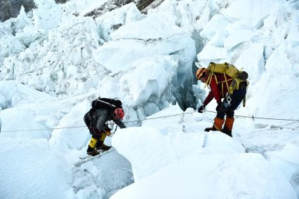 Martin Hewitt  – Khumbu ice fall 2019